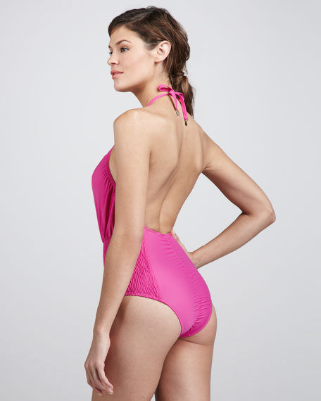 Coast Smock-Side One-Piece Swimsuit