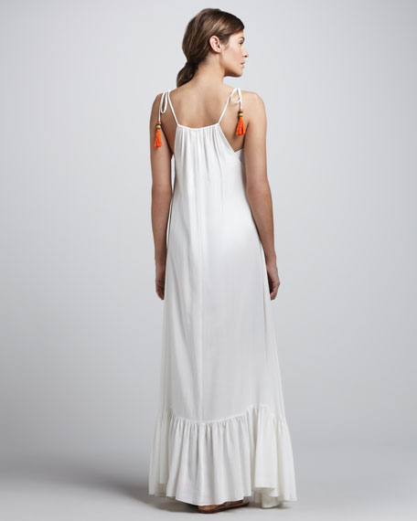 Monsoon Tie-Strap Maxi Dress
