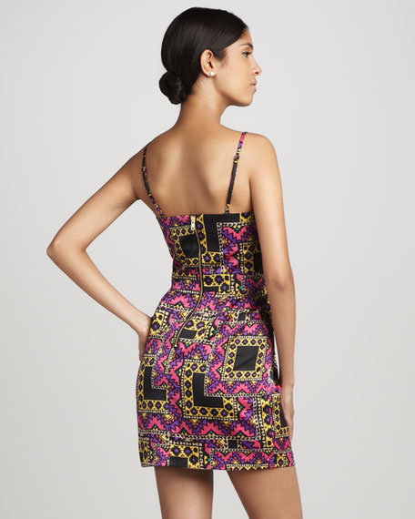 Heartthrob Tribal-Print Dress
