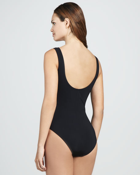 Ring-Front One-Piece