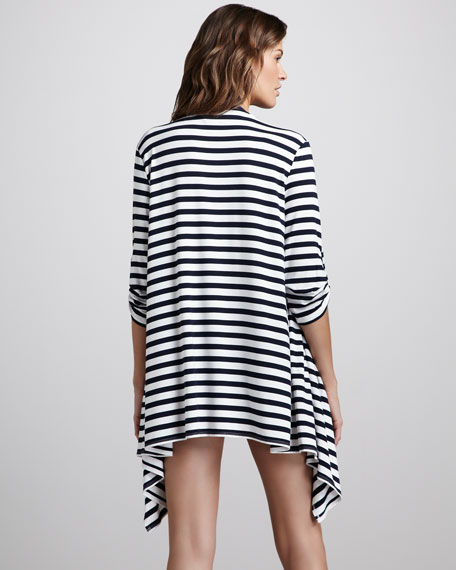 Summer House Striped Cardigan