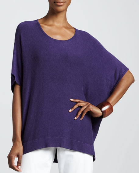 Cozy Boxy Knit Top