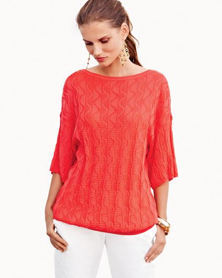 Half-Sleeve Sweater