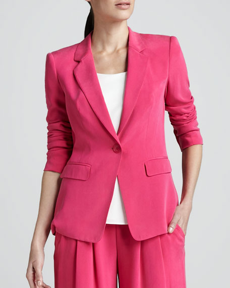Stelly Sandwashed Silk Jacket