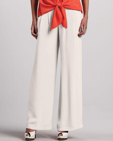 Ludlow Sandwashed Silk Pants