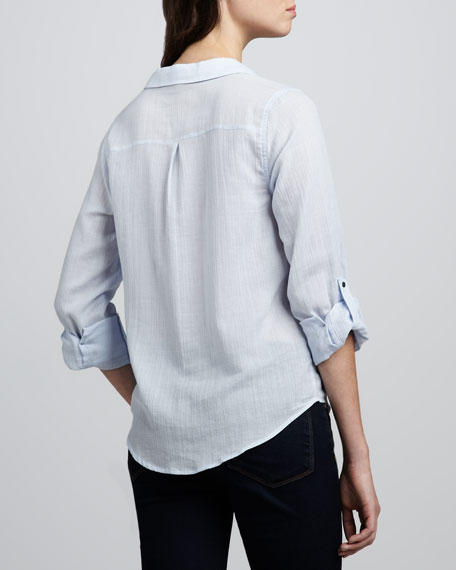 Cartel Mini-Check Blouse