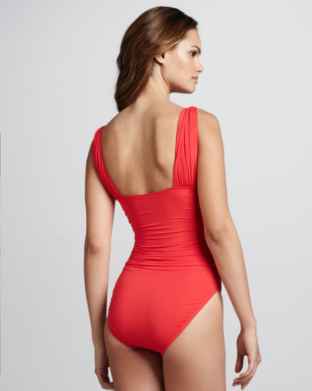 Saint Lucia Bay Maillot, Poppy