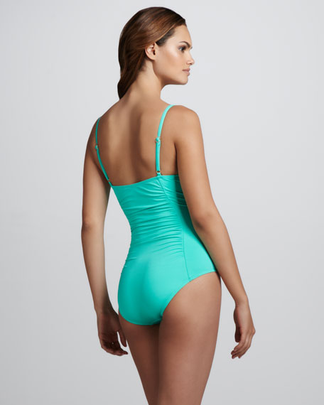 Signature Twist-Front Maillot