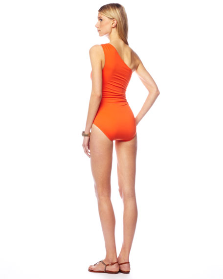 One-Shoulder Maillot