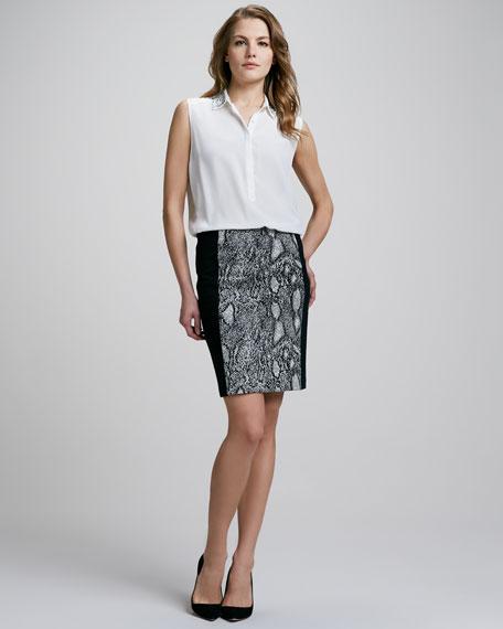 Python-Print Pencil Skirt