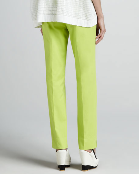 Bleecker Cropped Pants, Appletini