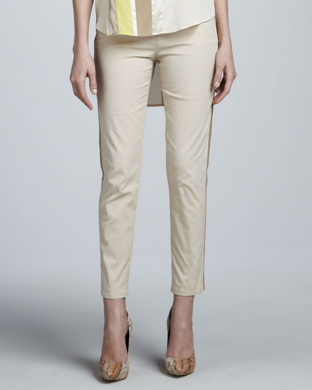 Twill Skinny Pants