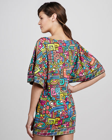 Maya Printed Coverup