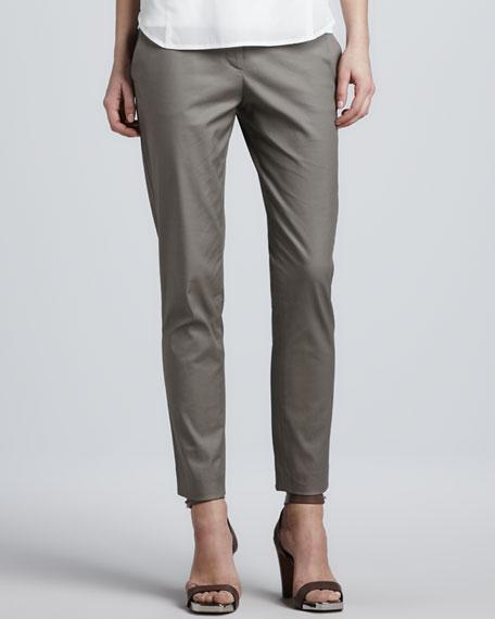 Flat Front Skinny Pants