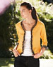 Reversible Petal-Trim Jacket, Women's