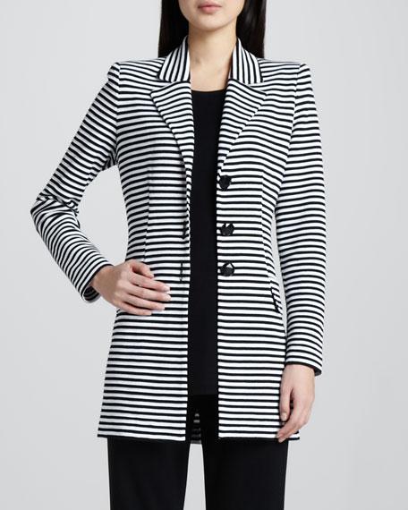 Amelie Long Striped Jacket