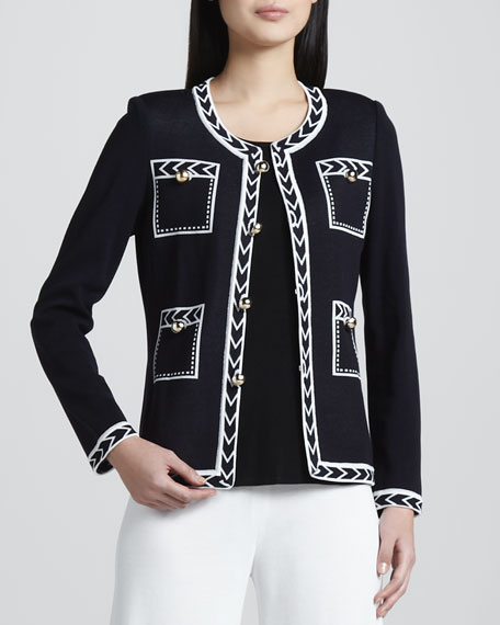 Adrienne Intarsia Jacket