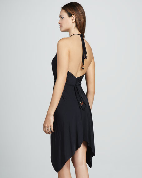 Marisa Handkerchief Halter Dress