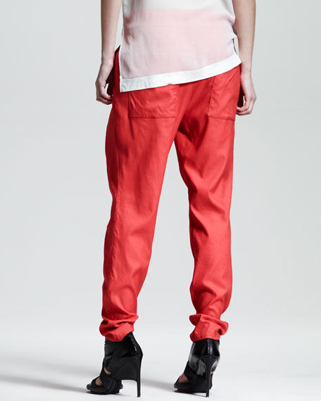 Voyage Relaxed Tie-Waist Pants