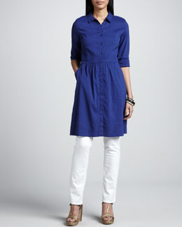 Eileen Fisher Linen Shirtdress