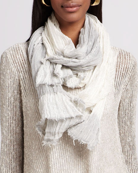 Sparkle Striped Infinity Scarf