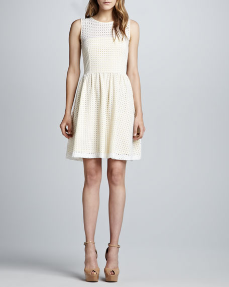 A-Line Eyelet Dress