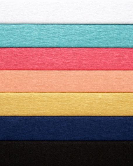Linen Jersey Top, Women's