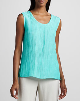 Caroline Rose Long Wave-Rib Tank