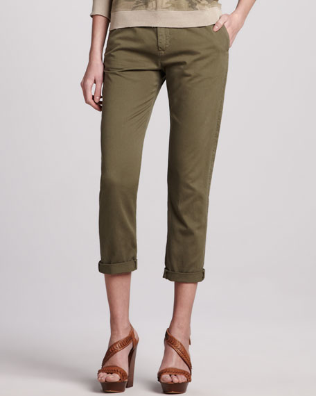 The Buddy Cropped Trousers