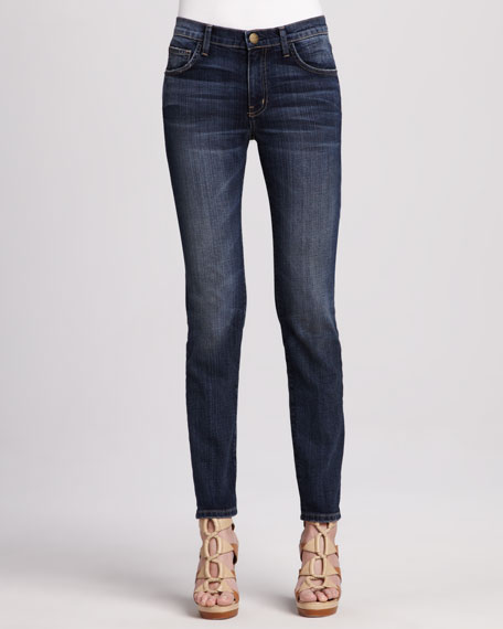 The Mid-Rise Skinny Carousel Jeans