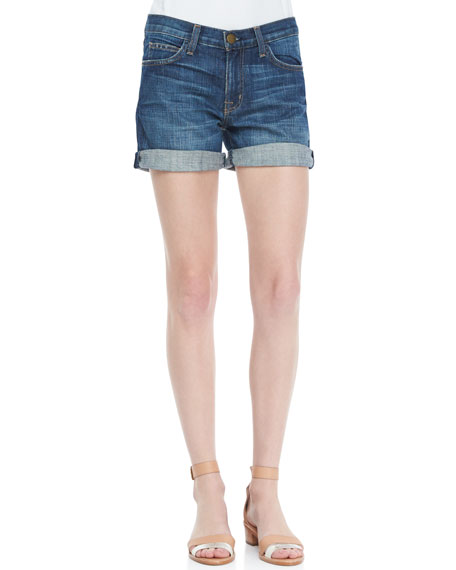 The Rolled Loved Denim Shorts