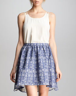 PJK Wendy Hi-Low Skirt