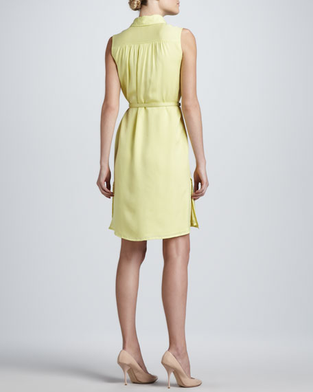 Pleated Easy Silk Dress