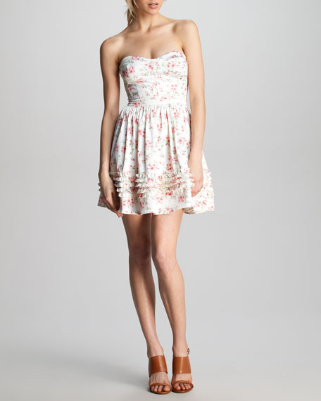 Aurora Flirty Ruffle Dress