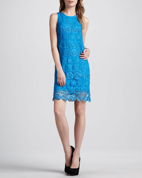 Relaxed Lace Tank Dress