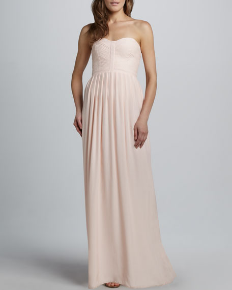 Bayou Silk Maxi Dress