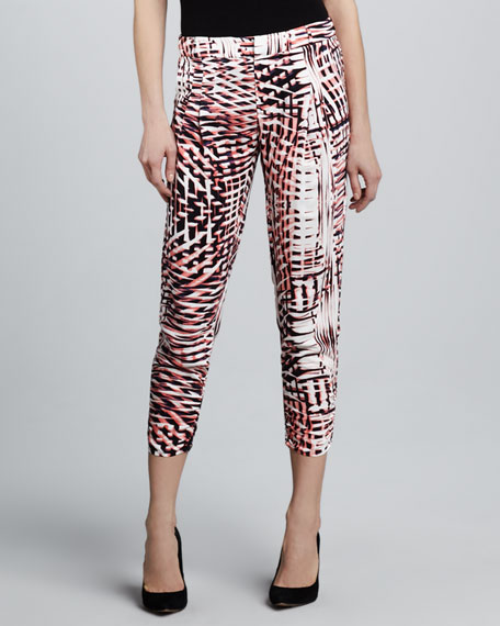 Devlin Printed Pants