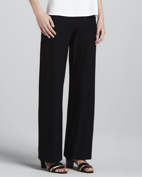 Slim Boot-Cut Pants
