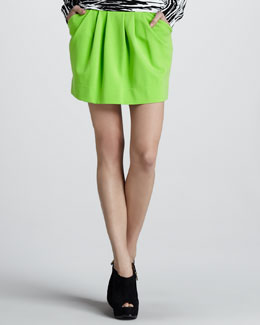 Diane von Furstenberg Jan Short Knit Skirt