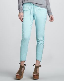 Cut25 Lace-Up Cropped Pants