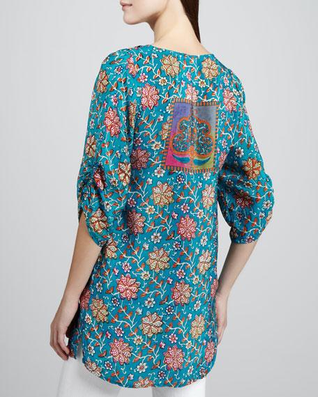 Sasha Floral-Print Tunic