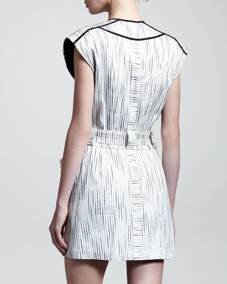 Oddity Silk Wrap Dress