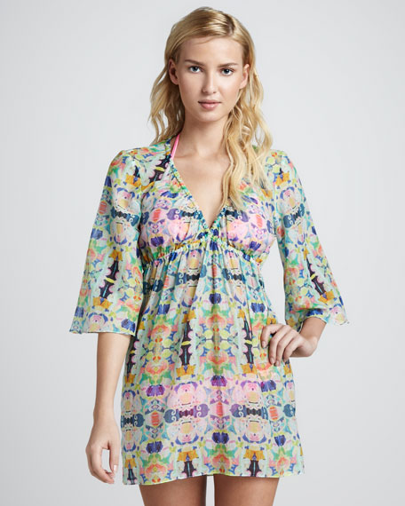 Kaleidoscope Palmas Printed Dress