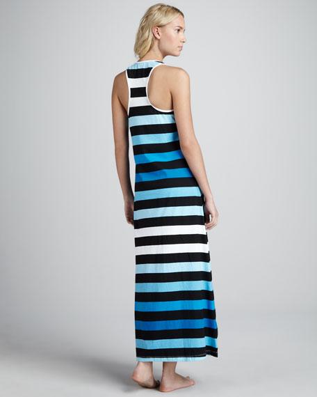 Bermuda Striped Maxi Dress