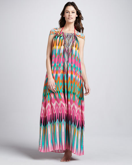 Rivera Printed Maxi Dress
