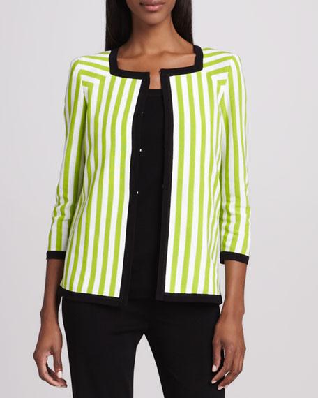 Gloria Striped Jacket