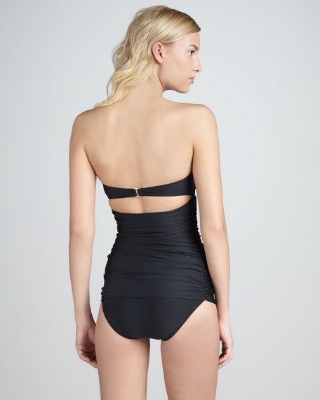 Ruffle-Top One-Piece