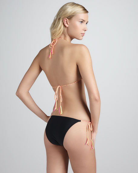 Loretta String Bikini, Black