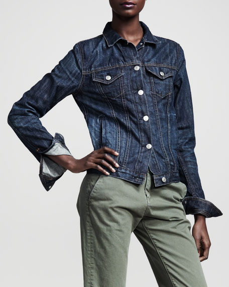 The Jean Jacket, Medium Indigo