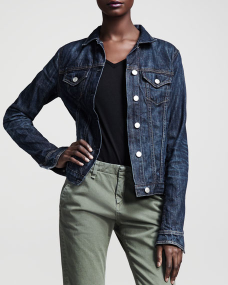 The Jean Jacket, Medium Indigo